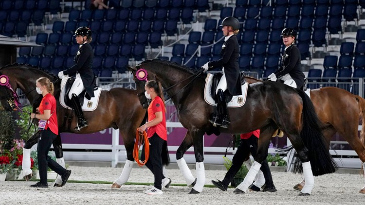 For horses, the journey to the Olympics includes a custom hotel, 'business class' and one morbid passport question