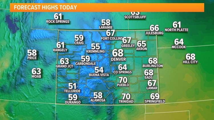 Warmer, with a mix of sun and clouds Thursday afternoon