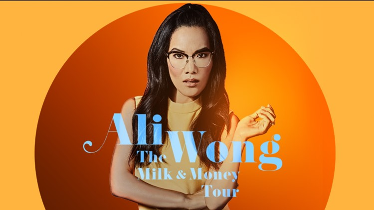 Ali Wong is a stand-up comic