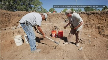 Ruins unearthed near Durango during construction preparations