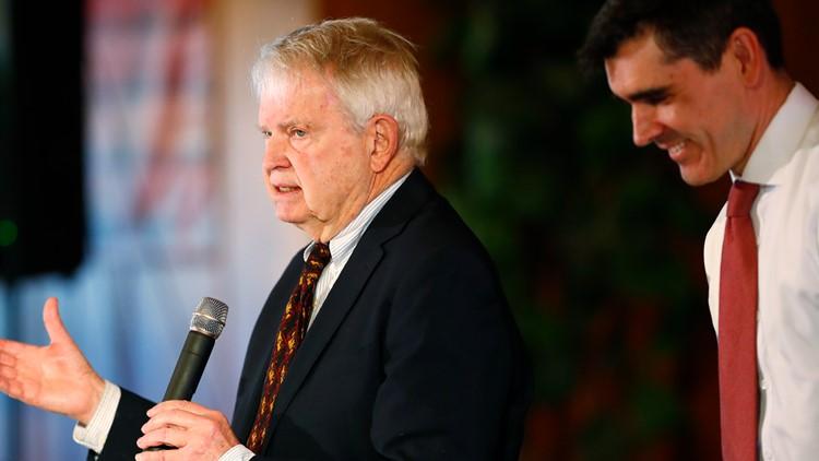 Colorado Gov. Dick Lamm remembered in memorial service Tuesday