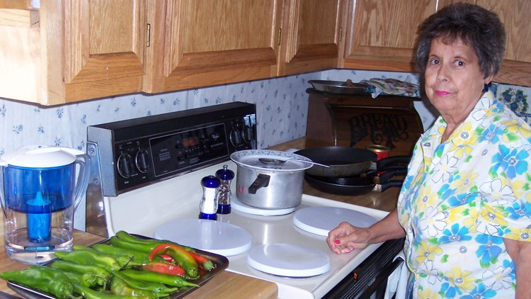 Luisa Blea in her New Mexico kitchen