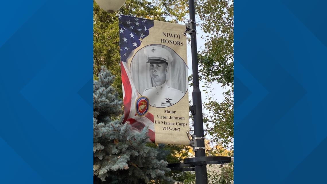 Niwot banners salute veterans