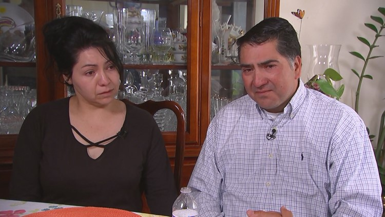 Kendrick Castillo's parents