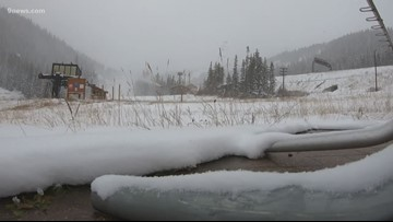 Loveland ski area hopes to open later this week