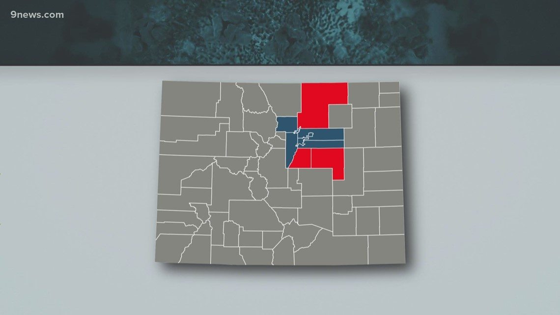 Colorado COVID-19 restrictions transition to county control