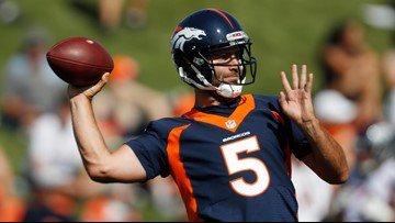 Broncos camp notes: Two sides to an interception story