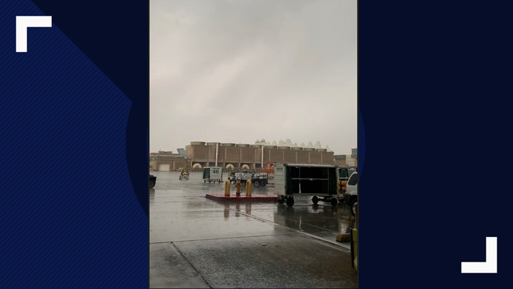 Severe weather causing hullabaloo at DIA