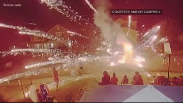 Doorbell camera shows moment fireworks exploded in Colorado man's pocket