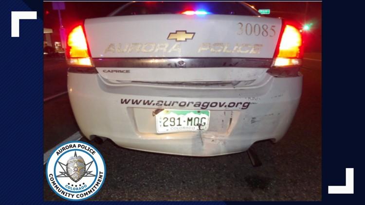 Aurora police officer injured after suspected drunk driver