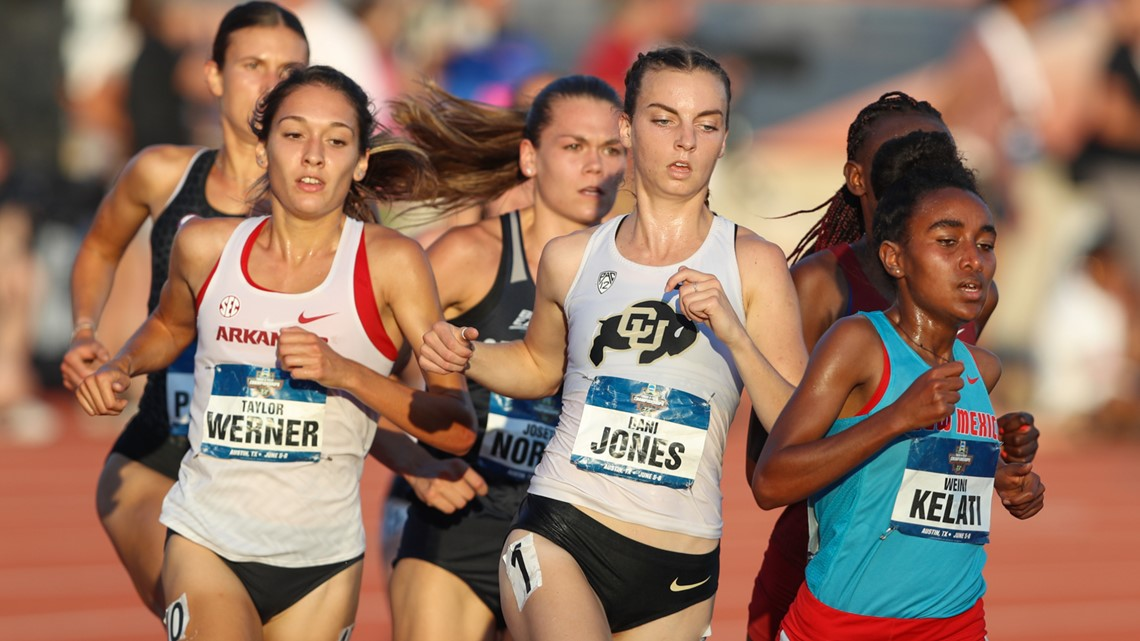 CU's Dani Jones wins track national title