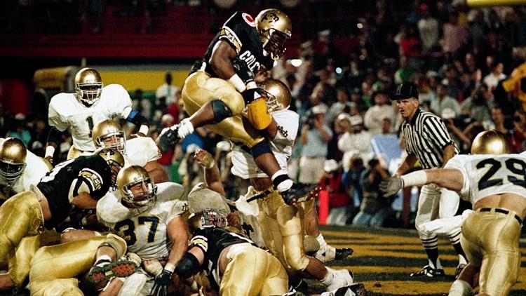 Orange Bowl 1990 Eric Bieniemy