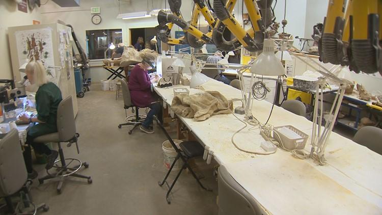 DMNS Fossil Prep Lab