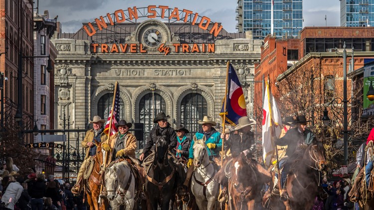 National Western Stock Show  stock show parade union station