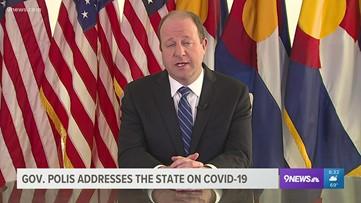 RAW: Gov. Polis statewide address on COVID-19 response