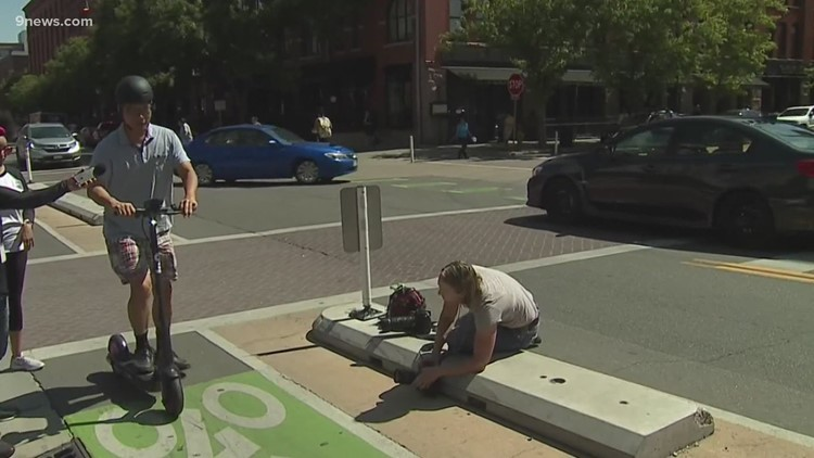 Denver City Council considering only letting 2 companies rent out scooters in Denver