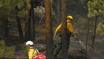 Boulder County fire crews look forward to snow after wildfire