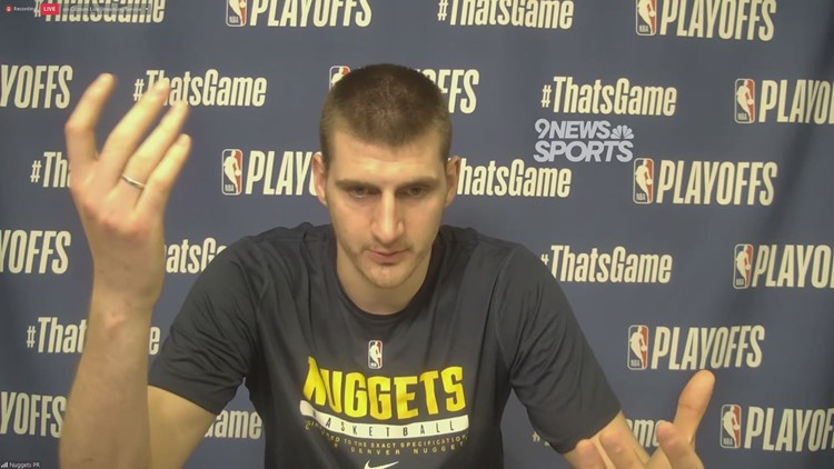 Nuggets star and NBA MVP Nikola Jokic on his Game 4 ejection