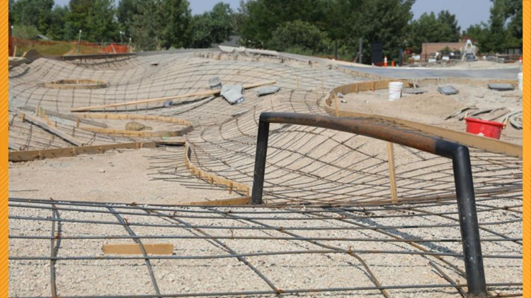 Construction continues for two Boulder skate parks