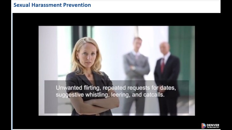 A look at the sexual harassment prevention training video