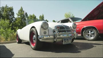 Assisted living center helps residents re-live memories of classic cars