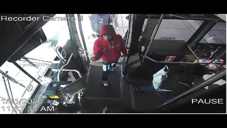Suspect bus shooting
