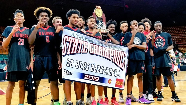 Rangeview 5A boys basketball state championship 2019