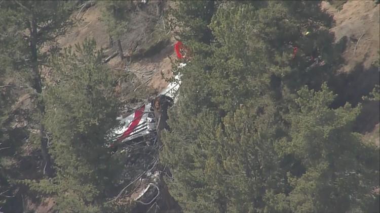RAW: Single-engine plane crashes in Jefferson County