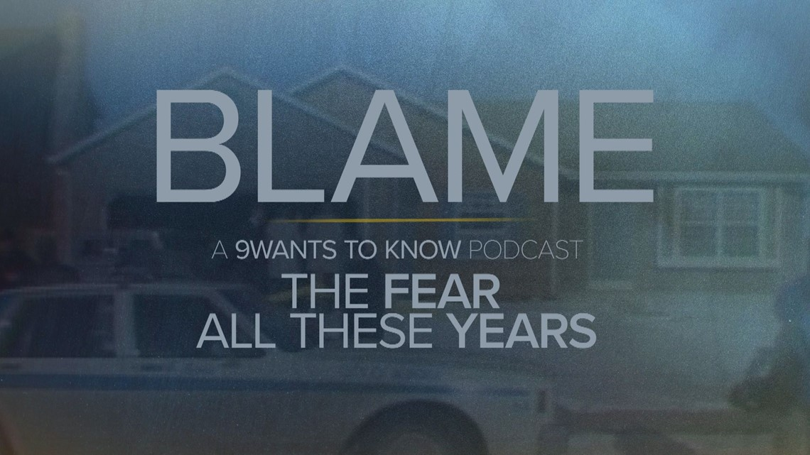 Binge part 1 of 'BLAME   The Fear All These Years' a true-crime podcast