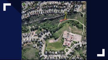 Homemade mountain bike trail damages Golden park lands