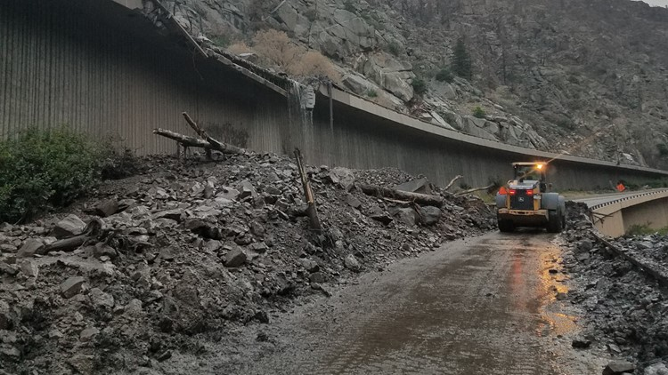 I-70 through Glenwood Canyon closed through weekend after 'significant' mudslides