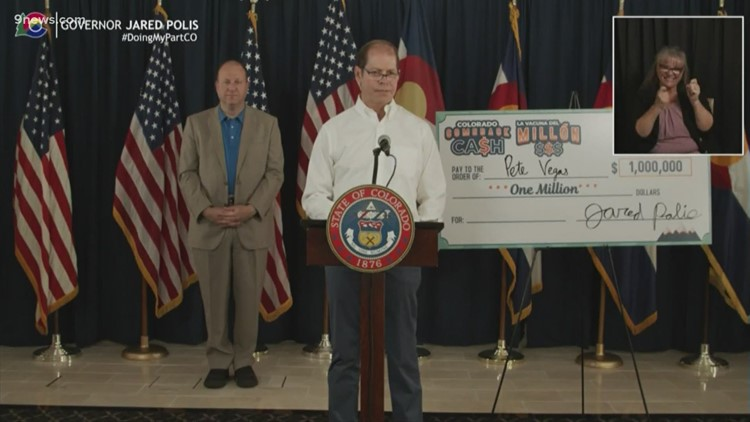 3rd winner of Colorado's $1 million cash drawing announced
