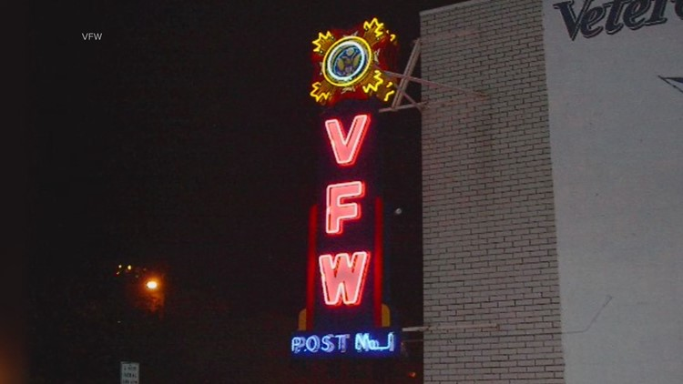 Years after getting back their cherished neon sign, VFW Post 1 still hasn't been able to hang it