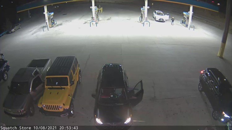 Man asks for gas and cigarettes, threatens people with a knife, then rams car and leads police on a pursuit