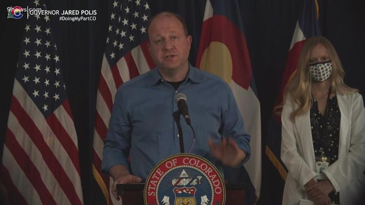 Polis dice que Colorado tiene una tasa de vacunación de poco más del 70%, incluida la población de más de 12 años