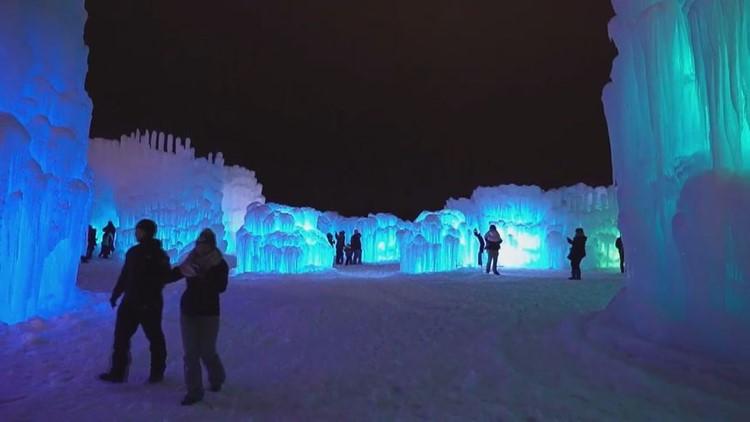 Explore Ice Castles in Dillon