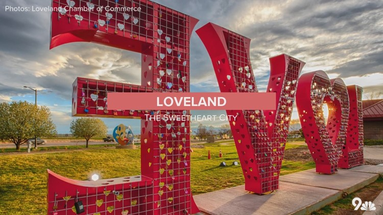 A photo tour of Loveland, the Sweetheart City, during Valentine's Day