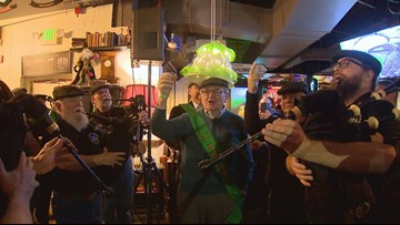 Music, whiskey and a lampshade drop: Celebrating the Irish New Year in Denver