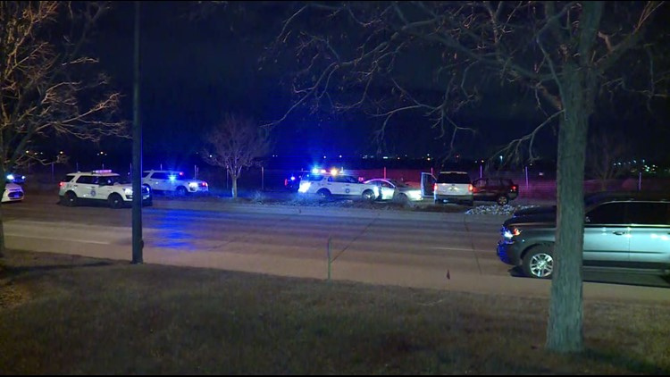 DPD pursuit of armed robbery suspect leads to officer-involved shooting in Aurora, police say