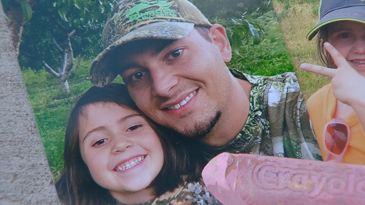 6-year-old Ava King loves to go hunting with her dad.