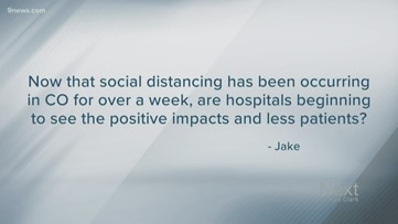 Next question: Is social distancing working?