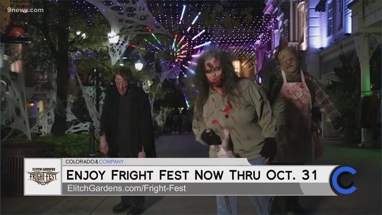 Elitch Gardens Fright Fest - October 14, 2021