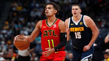 Nuggets fall to Hawks for first November loss