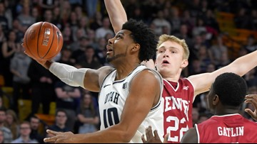 Denver basketball blown out by No. 17 Utah State