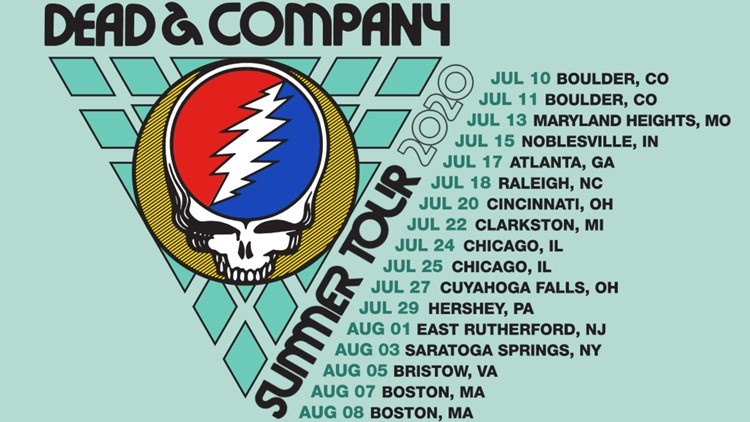 Dead and company dead & company 2020 summer