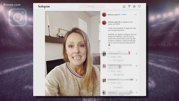 ESPN reporter leaves her job over vaccine mandate