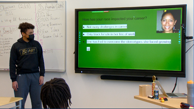 Students at Denver school learn about Black achievements in their own community