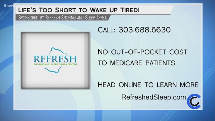 Refresh Snoring and Sleep Apnea Center - July 29, 2021