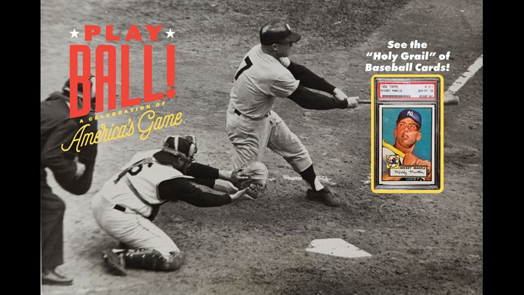 Rare Mickey Mantle Baseball Card Will Be On Display In Denver