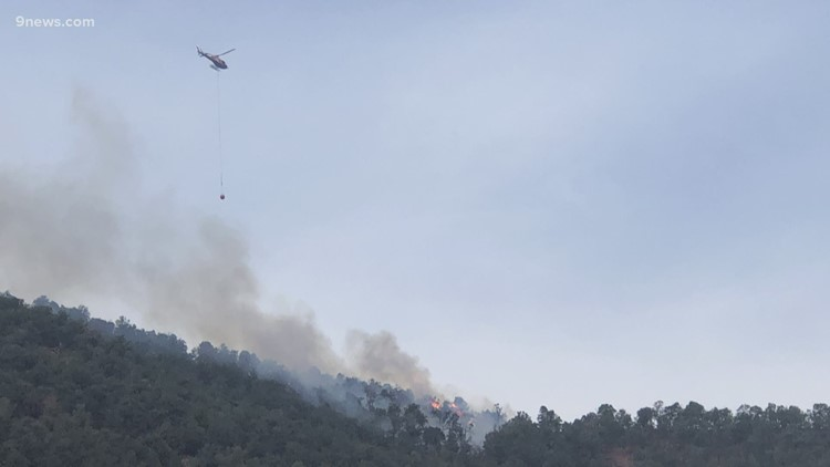 Multiple wildfires burning in Colorado as conditions remain hot and dry